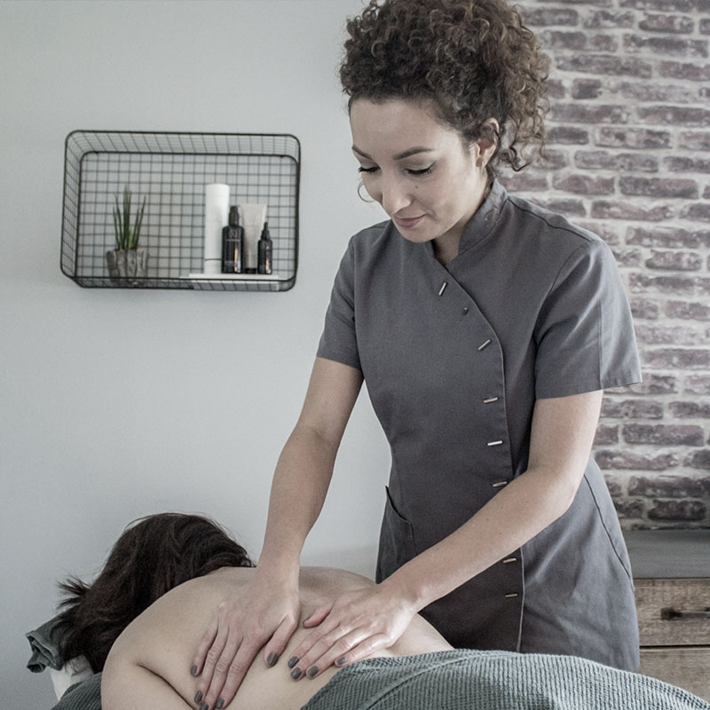ontspanningsmassage hot-stone massage